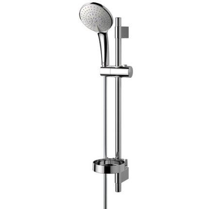Set dus Ideal Standard IdealRain L3 SHK 3 functii, para 120mm, bara 600mm, furtun 1,7m
