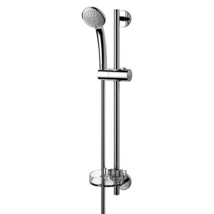 Set dus Ideal Standard IdealRain S3 SHK 3 functii, para 80mm, bara 600mm, furtun 1,7m