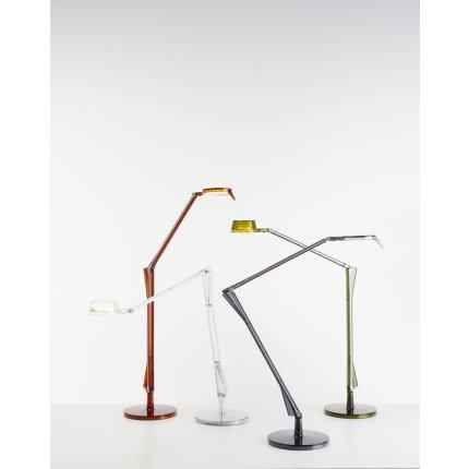 Veioza Kartell Aledin Tec design Alberto & Francesco Meda, verde transparent