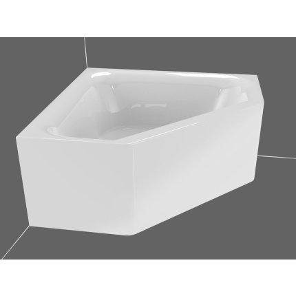 Cada baie de colt Riho Austin 145x145cm, acril