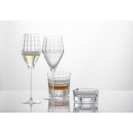 Scrumiera Zwiesel Glas Bar Premium No.1, design Charles Schumann, handmade, 147mm