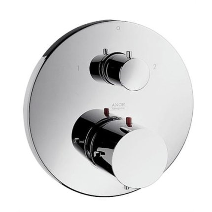 Baterie cada termostatata Hansgrohe Axor Starck montaj incastrat, necesita corp ingropat