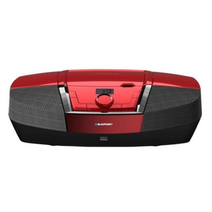 Microsistem audio Blaupunkt Boombox BB11RD, CD Player, USB, 2x2W, Red
