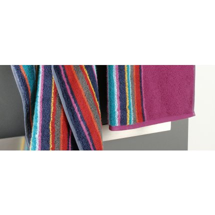 Prosop baie Cawo Opal Centre Stripes 70x140cm, 12 multicolor