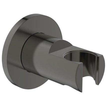 Agatatoare de dus Ideal Standard Ideal Rain Round, gri magnetic