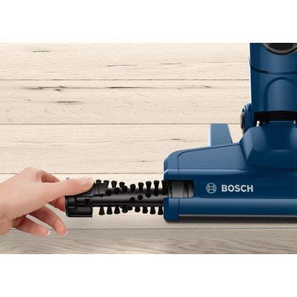 Aspirator multifunctional Bosch BCHF216S 2in1 Serie 2, acumulatori LiIon 14,4V, autonomie 40 min, Night blue