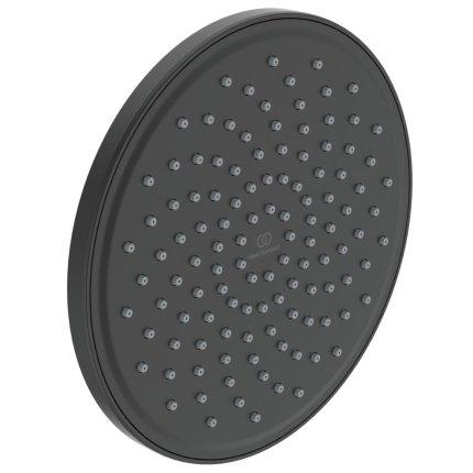 Palarie de dus Ideal Standard IdealRain 200mm, negru mat