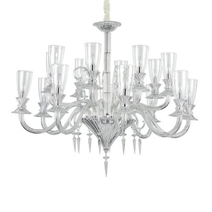 Candelabru Ideal Lux Beethoven SP16, 16x40W, 130x100-232cm