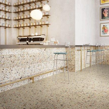 Gresie portelanata rectificata FMG Venice Villa 20x20cm, 10mm, Beige Levigato