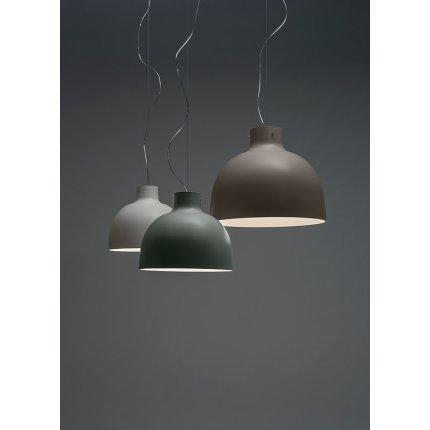 Suspensie Kartell Bellissima design Ferruccio Laviani, LED 15W, d50cm, gri-maro