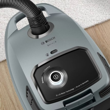 Aspirator cu sac Bosch BGB6X330 Serie 6, 600W, gri