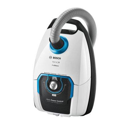 Aspirator cu sac Bosch ProSilence BGB8SIL1 Serie 8, 800W, alb