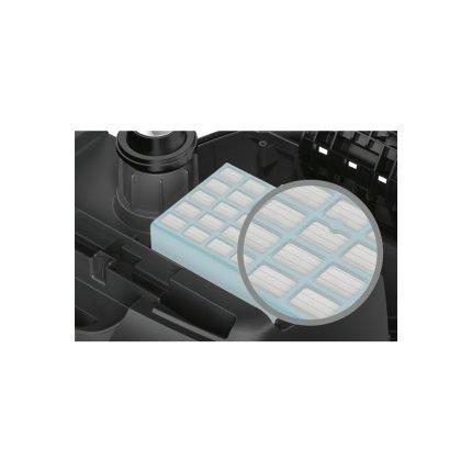 Aspirator cu sac Bosch BGL4SIL69W GL-40 ProSilence 700W, perie pardoseli tari, alb