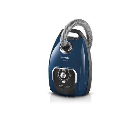 Aspirator cu sac Bosch BGL8X230 Serie 8, 890W, Power Protect System, albastru