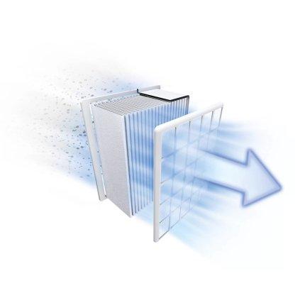 Aspirator cu sac Bosch BGLS4X200 Compaxx'x, 600W, albastru