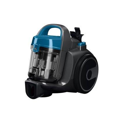 Aspirator fara sac Bosch BGS05A220 Serie 2, 700W, recipient praf 1,5 litri, laguna blue / stone grey