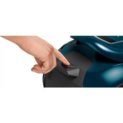 Aspirator fara sac Bosch BGS41FAM Serie 6 ProFamily, 600W, Sistem Quatro Power & Easy Clean, recipient praf 2,4 litri, deep petrol