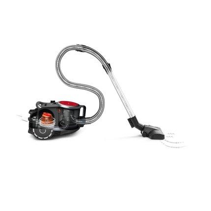 Aspirator fara sac Bosch ProPower BGS41PRO Serie 6, 700W, Smart Sensor Control, negru