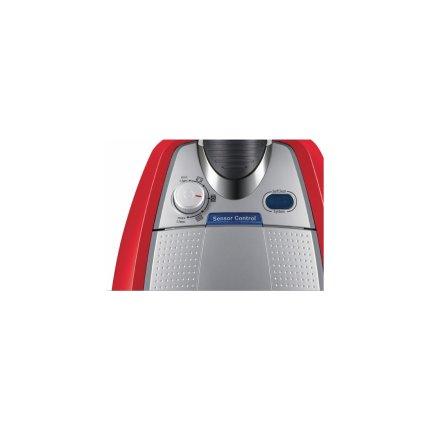 Aspirator fara sac Bosch BGS5335 Relaxxx Zooo ProAnimal 700W, recipient praf 3 litri, perie ProAnimal turbo, perie parchet, tornado red
