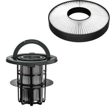 Aspirator fara sac Bosch ProSilence Black BGS7MS64 Serie 8, 800W, Smart Sensor Control, negru
