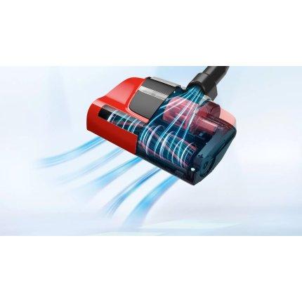 Aspirator fara sac Bosch BGS7PET Serie 8 ProAnimal, 800W, recipient praf 3 litri, Smart Sensor Control, rosu