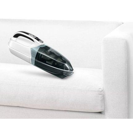 Aspirator de mana Bosch BHN14N Move Cyclonic Airflow, acumulator NiMH 14.4V, autonomie 12 min, alb