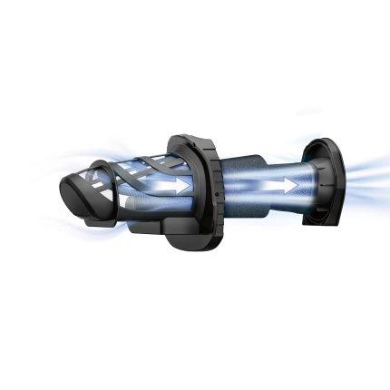 Aspirator de mana Bosch BHN20L Move Cyclonic Airflow, acumulator LiIon 18V, autonomie 45 min, albastru