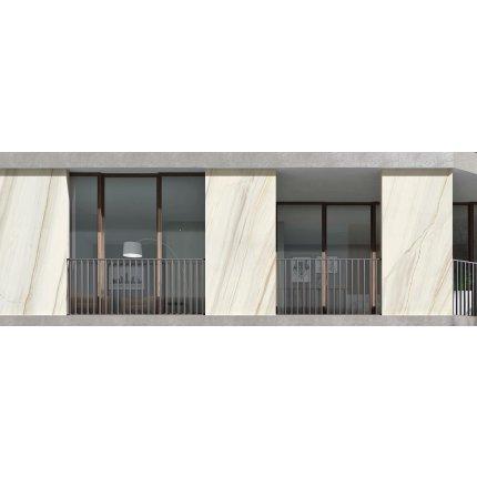 Gresie portelanata FMG Marmi Classici Maxfine 300x150cm, 6mm, Bianco Lasa Lucidato