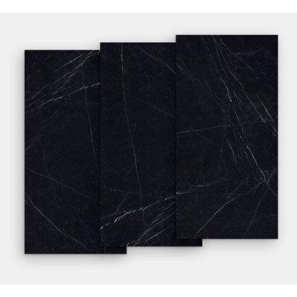 Gresie portelanata FMG Marmi Classici Maxfine 300x150cm, 6mm, Black Marquinia Lucidato