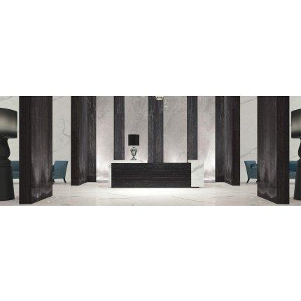 Gresie portelanata FMG Marmi Classici Maxfine 300x150cm, 6mm, Black Venato Lucidato