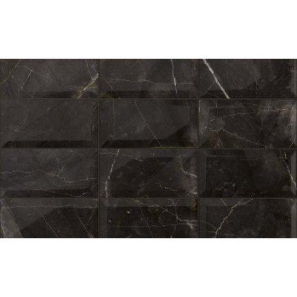 Faianta Iris Marmi 3.0 10x20cm, 8.5mm, Black Pulpis