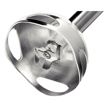 Blender de mana Bosch MSM 66120 600W, 12 viteze + turbo, tocator, vas gradat, alb-gri