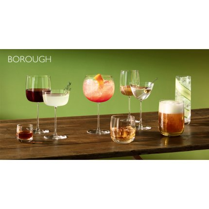 Set 4 pahare LSA International Borough Bar 625ml