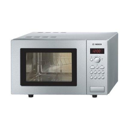 Cuptor cu microunde Bosch HMT 75G451 800W, Control electronic, Inox