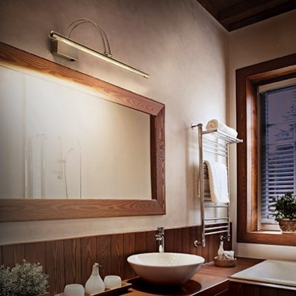 Aplica Ideal Lux Bow AP36 LED, 36x0.07W, 26x18cm, bronz