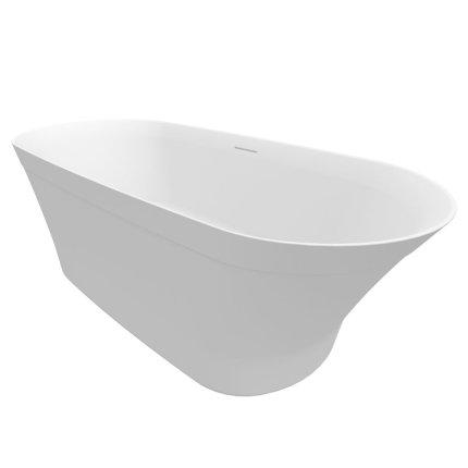 Cada free-standing Riho Barca 170x79cm alb mat