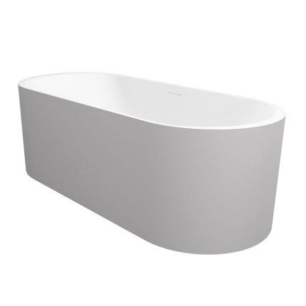 Cada free-standing Riho Essence 170x72cm alb mat