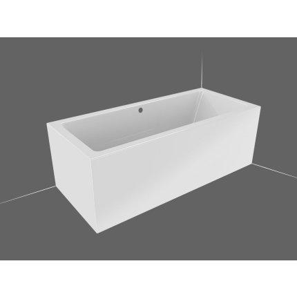 Cada baie rectangulara incastrabila Riho Lugo 170x75cm, acril