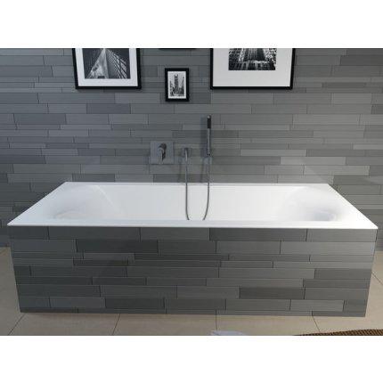 Cada baie rectangulara incastrabila Riho Linares 190x90cm, acril