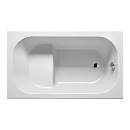 Cada baie rectangulara Riho Petit 120x70cm, acril