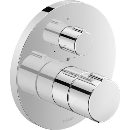Baterie dus termostatata Duravit B.1 montaj incastrat, necesita corp ingropat