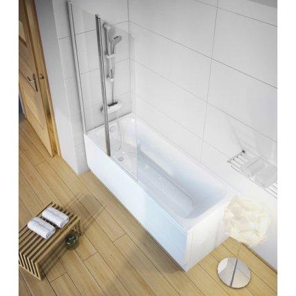 Cada baie rectangulara Ravak Concept Chrome 170x75cm, acril
