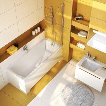 Cada rectangulara Ravak Concept Classic 170x70cm, alb