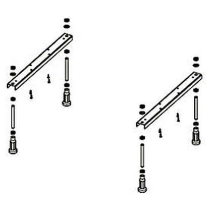 Set picioare Ideal Standard pentru cazile Active