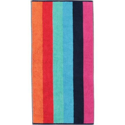 Prosop baie Cawo Art Block Stripes 50x100cm, 12 multicolor