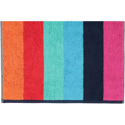 Prosop baie Cawo Art Block Stripes 70x140cm, 12 multicolor