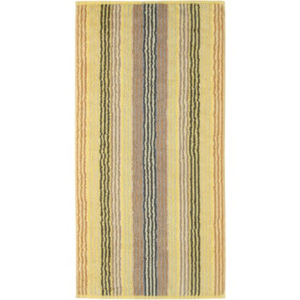 Prosop baie Cawo Unique Stripes 50x100 cm citrine
