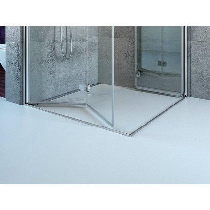 Cabina de dus patrata cu usi pliabile Radaway Eos KDD-B 90x90 cm sticla transparenta