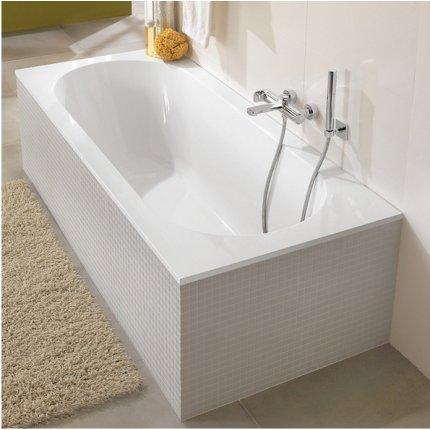 Cada baie rectangulara incastrabila Villeroy & Boch Oberon 160x75cm, compozit
