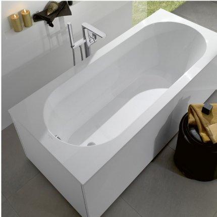 Cada baie rectangulara incastrabila Villeroy & Boch Oberon 170x70cm, compozit